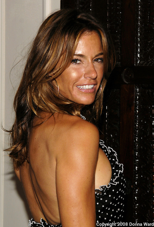 Photographer Kelly Killoren Bensimon poses at 'The Ivy Ceiling' CD Launch at Bruno Jamais Restaurant on the Upper East Side in New York City, USA August 6, 2008.