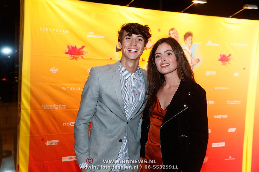 NLD/Amsterdam/20181122 - Premiere First Kiss, Niek Roozen en ..........