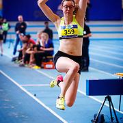 NLD/Apeldoorn/20180217 - NK Indoor Athletiek 2018, Natalie Puper