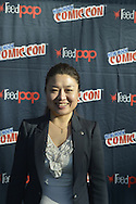Manhattan, New York City, New York, USA. October 10, 2015. SOYEON YI, the first South Korean in space, is a panelist on Secret Space Escapes - The Real Life Gravity Panel, at the 10th Annual New York Comic Con. Secret Space Escapes is a new series scheduled to begin November on the Discovery Science Channel. Born in 1978, Yi went into space when she was 29, traveling on Russia's Soyuz TMA-12 to the International Space Station (ISS). NYCC 2015 is expected to be the biggest one ever, with over 160,000 attending during the 4 day ReedPOP event, from October 8 through Oct 11, at Javits Center in Manhattan