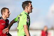 Forest Green Rovers Christian Doidge(9) during the EFL Sky Bet League 2 match between Morecambe and Forest Green Rovers at the Globe Arena, Morecambe, England on 17 February 2018. Picture by Shane Healey.