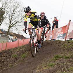 11-01-2020: Wielrennen: NK Veldrijden: Rucphen<br />Daan de Jonge