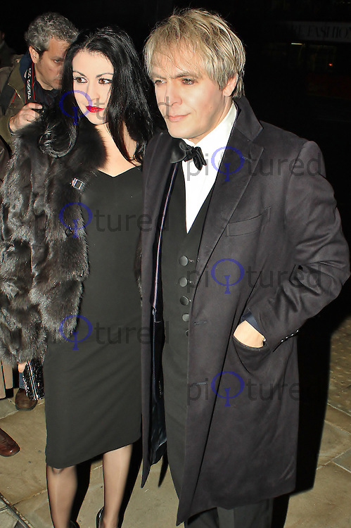 LONDON - November 10: Nick Rhodes at the Peace Earth Foundation Fundraising Gala (Photo by Brett D. Cove)