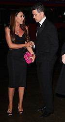 Michelle Heaton and Hugh Hanley attend Helping Hands VIP fundraising Dinner at The Park Lane Hotel, Piccadilly, London on Tuesday 24.3.2015