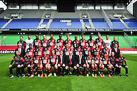 Equipe Rennes - 15.09.2014 - Photo officielle Rennes - Ligue 1 2014/2015<br /> Photo : Philippe Le Brech / Icon Sport