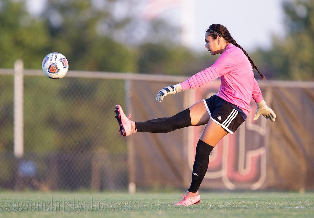 September 22, 2016: The Texas A&M International University Dustdevils play the Oklahoma Christian University Eagles on the campus of Oklahoma Christian University