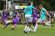 Forest Green Rovers George Williams(11) goes to shoot at goal during the EFL Sky Bet League 2 match between Forest Green Rovers and Port Vale at the New Lawn, Forest Green, United Kingdom on 8 September 2018.