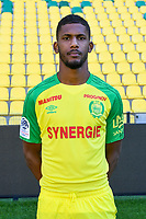 Najib Gandi during photoshooting of Fc Nantes for new season 2017/2018 on September 18, 2017 in Nantes, France. (Photo by Philippe Le Brech/Icon Sport)