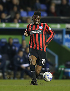 Rohan Ince, Brighton midfielder during the Sky Bet Championship match between Reading and Brighton and Hove Albion at the Madejski Stadium, Reading, England on 10 March 2015.