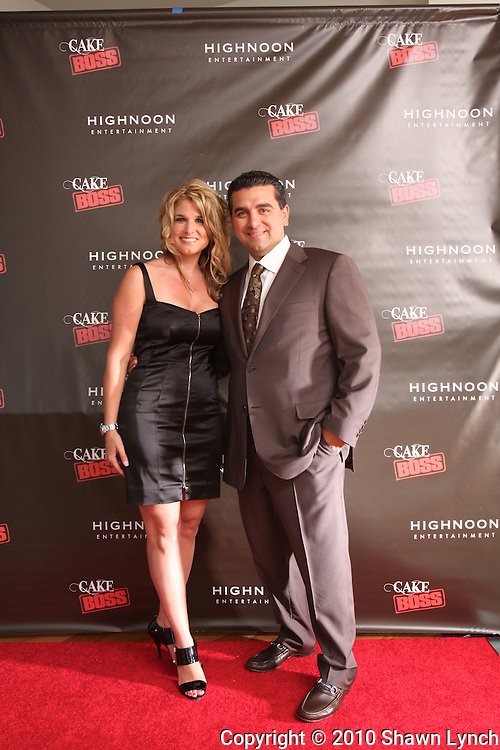Cake Boss Season 3 Premier part at the Cooper Square Hotel in New York on Sunday May 23, 2010.