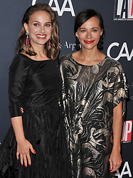(L-R) Natalie Portman and Rashida Jones arrives at the L.A. Dance Project's Annual Gala held at LA Dance Project in Los Angeles, CA on Saturday, October 7, 2017. (Photo By Sthanlee B. Mirador/Sipa USA)