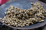 Roasted coffe beans, Omovalley,Ethiopia,Africa