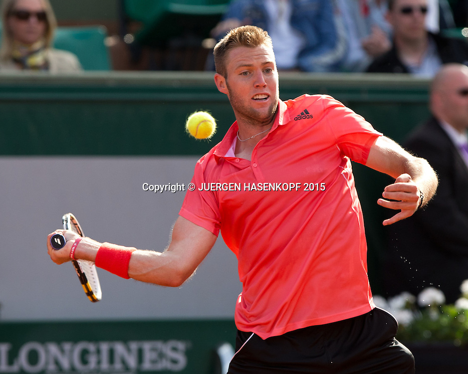 Jack Sock (USA)<br /> <br /> Tennis - French Open 2015 - Grand Slam ITF / ATP / WTA -  Roland Garros - Paris -  - France  - 1 June 2015.