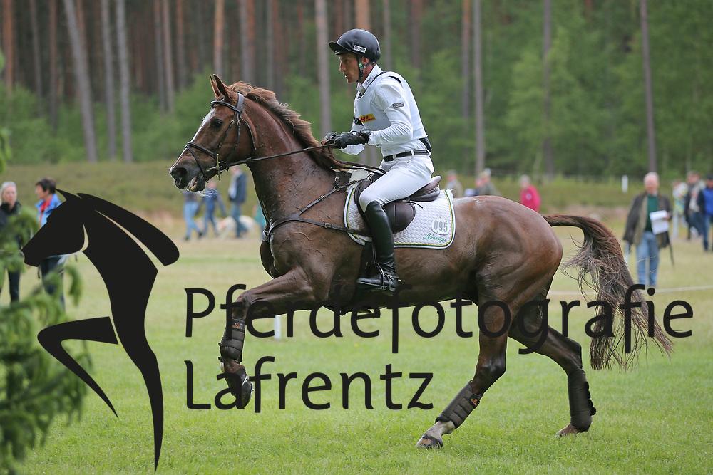 Schrade, Dirk, Hop and Skin<br /> Luhm&uuml;hlen - CCI****/CIC***DM 2015<br /> CCI Gel&auml;nde<br /> &copy; www.sportfotos-lafrentz.de/Stefan Lafrentz