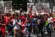CTC and CCA organize a Day of Action rally at the California State Capitol for education funding on May 22, 2019.