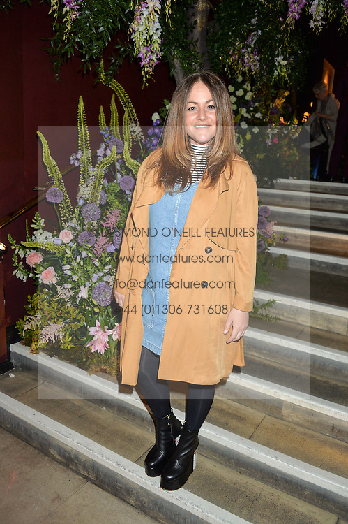 JAIME WINSTONE at a preview of Mayfair's first Flower Show at Sketch, 9 Conduit Street, London on 18th May 2016.