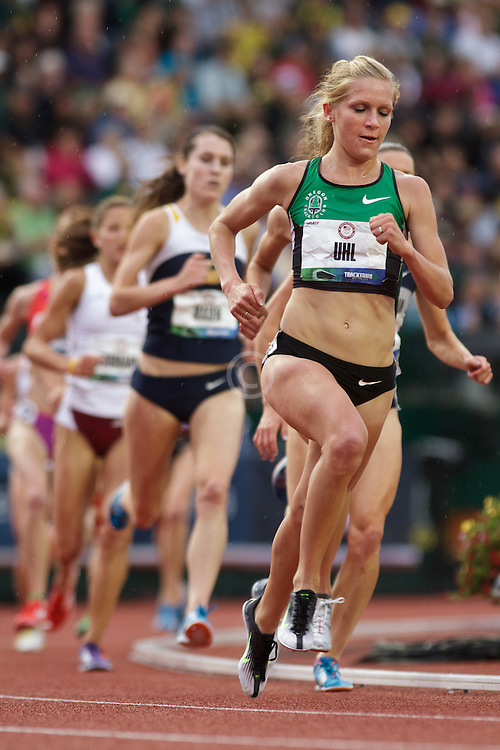 Olympic Trials Eugene 2012: womens; 5000 meters, Lisa Uhl