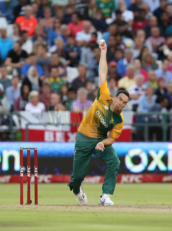 during the First KFC T20 Match between South Africa and England played at Newlands Stadium, Cape Town, South Africa on February 19th 2016