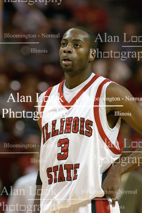 Nedu Onyeuku<br /> 03 December 2005: The Illinois State Redbirds shot a stunning 61% in the 2nd half as the University of Wisconsin Phoenix fell to the hosts  59-51during the late afternoon game at Redbird Arena in Normal IL