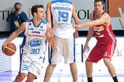 DESCRIZIONE : Cantù Lega A 2014-15  Acqua Vitasnella Cantù vs Openjobmetis Varese<br /> GIOCATORE : Stefano Gentile<br /> CATEGORIA : Palleggio Blocco Controcampo<br /> SQUADRA : Acqua Vitasnella Cantù<br /> EVENTO : Campionato Lega A 2014-2015<br /> GARA : Acqua Vitasnella Cantù vs Openjobmetis Varese<br /> DATA : 26/01/2015<br /> SPORT : Pallacanestro <br /> AUTORE : Agenzia Ciamillo-Castoria/I.Mancini<br /> Galleria : Lega Basket A 2014-2015  <br /> Fotonotizia : Cantù Lega A 2014-2015 Pallacanestro : Acqua Vitasnella Cantù vs Openjobmetis Varese<br /> Predefinita :