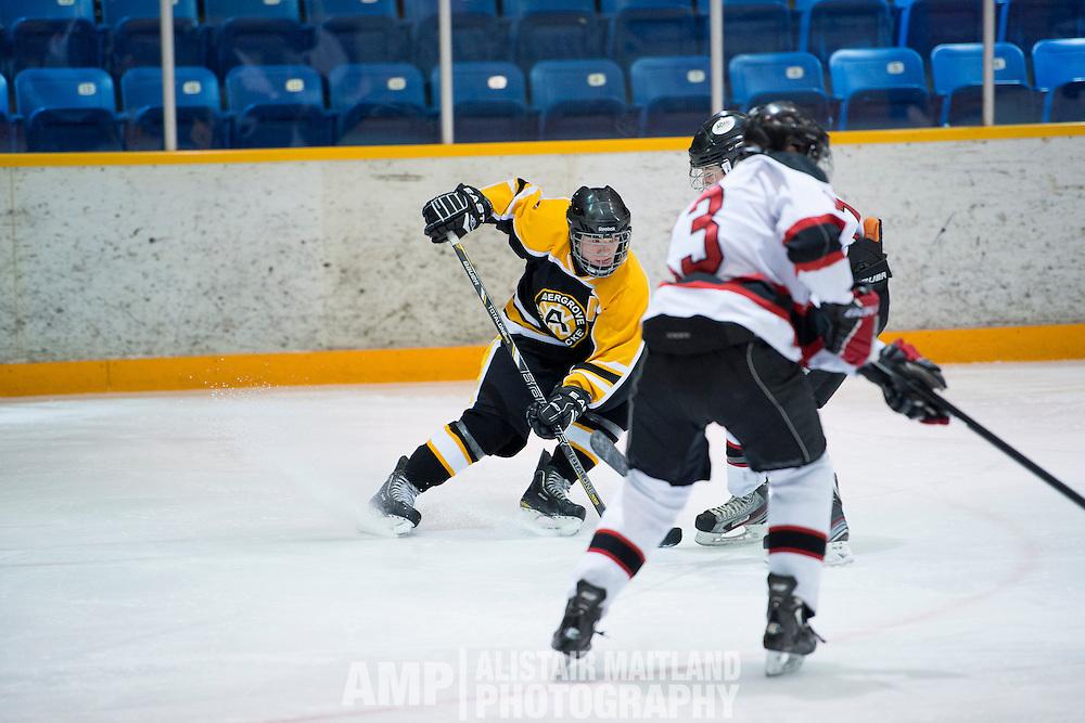 Hockey Day in Whitehorse - Midget A vs. Aldengrove