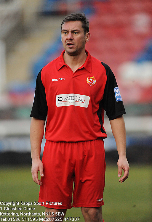 SOL DAVIS, KETTERING TOWN, Kettering Town v Bath City, Blue Square Premier, Nene Park, Saturday 17th December 2011