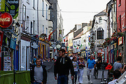 A view up Shop Street in Galway, County Galway, Ireland on Monday, June 24th 2013. (Photo by Brian Garfinkel)
