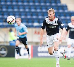 Falkirk's Stephen Kingsley.<br /> Falkirk 3 v 1 Dundee, 21/9/2013.<br /> &copy;Michael Schofield.