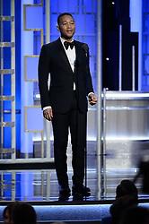 Jan 8, 2017 - Beverly Hills, California, U.S - JOHN LEGEND presents at the 74th Annual Golden Globe Awards at the Beverly Hilton in Beverly Hills, CA on Sunday, January 8, 2017. (Credit Image: ? HFPA/ZUMAPRESS.com)