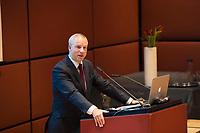 DEU, Deutschland, Germany, Berlin, 04.12.2017: Hans Olav Syversen (Kristelig Folkeparti) bei der Willy-Brandt-Preisverleihung der Norwegisch-Deutschen Willy-Brandt-Stiftung.