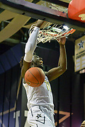 Vanderbilt Commodores forward Simisola Shittu (11) dunks the ball against the Alcorn State Braves during the first half of a NCAA college basketball game in Nashville, Tenn., Friday, Nov 16, 2018. (Jim Brown/Image of Sport)