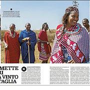 Published in IL VENERDI magazine, Italy, September 2018