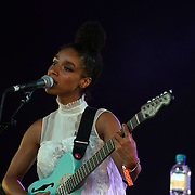 London,England,UK : 17th July 2016 : Lianne LA Havas preforms at the Citadel Festival 2016 at Victoria Park, London,UK. Photo by See Li