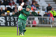Tom Moores during the Natwest T20 Blast North Group match between Nottinghamshire County Cricket Club and Worcestershire County Cricket Club at Trent Bridge, West Bridgford, United Kingdom on 26 July 2017. Photo by Simon Trafford.