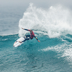 3X World Champion Mick Fanning of Australia placed second Heat 2 of Round Four at the Rip Curl Pro Bells Beach in 6 - 8 foot conditions at Bells Beach.
