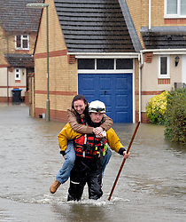 The emergency rescue services, Surrey, United Kingdom, Wednesday 12th February 2014. Picture by David Dyson / i-Images