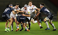 Rugby Union - 2017 / 2018 Aviva Premiership - Sales Sharks vs. Exeter Chiefs<br /> <br /> Thomas Waldrom of Exeter Chiefs at AJ Bell Stadium.<br /> <br /> COLORSPORT/LYNNE CAMERON