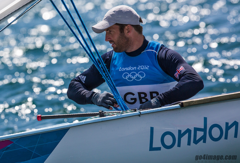Gold Medal Winner <br /> Ainslie Ben, (GBR, Finn)<br /> <br /> 2012 Olympic Games <br /> London / Weymouth