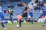 Jacob Mellis (Bury) runs with the ball during the EFL Sky Bet League 1 match between Oldham Athletic and Bury at Boundary Park, Oldham, England on 11 March 2017. Photo by Mark P Doherty.