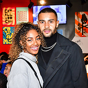 Dennon and Lavena of Love Island attend the preview PhoboPhobia Live Halloween Show on 10th October 2019, at The London Bridge Experience & London Tombs, London, UK.