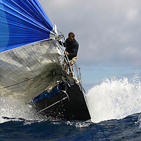 VOILE SPORTIVE - VENT FORT, MER AGITEE