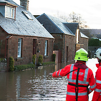 Flooding in Perthshire in the wake of Storm Desmond….06.12.15<br />
