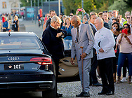 Copenhagen, 28-08-2017<br /> <br /> <br /> Prins Nikolais 18th birthday celebration at The Dannebrog. Arrival members of the Royal Family at the Amalie Harbour Copenhagen.<br /> <br /> <br /> Royalportraits Europe/Bernard Ruebsamen