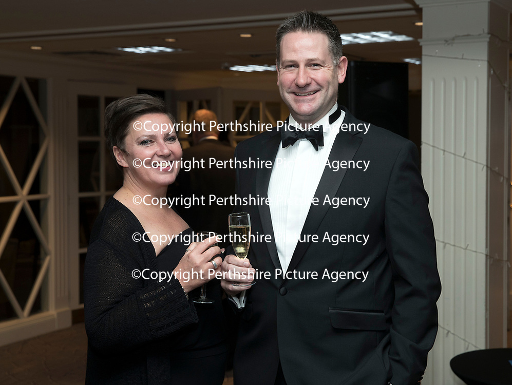 Perthshire Chamber of Commerce Business Star Awards 2017…Crieff Hydro Hotel<br />Arlene McNamara and Neil MacKay<br />Picture by Graeme Hart. <br />Copyright Perthshire Picture Agency<br />Tel: 01738 623350  Mobile: 07990 594431