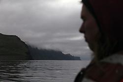 USA ALASKA  ST GEORGE ISLAND 6JUL12 - Coastline of the island of St. George in the Bering Sea, Alaska.....Photo by Jiri Rezac / Greenpeace....© Jiri Rezac / Greenpeace