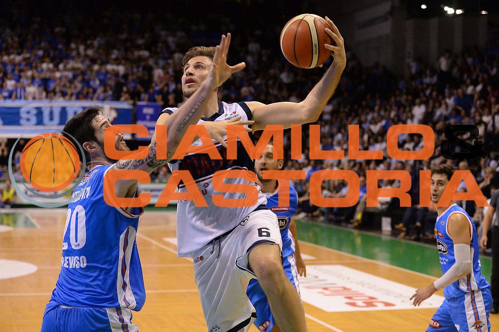 Mancinelli<br /> Treviso 17 Maggio  2017 -<br /> Campionato Basket Legadue - Play Off quarti Gara 2 - Treviso Basket  vs Kontatto Fortitudo Bologna<br /> Foto Ciamillo/Michele Gregolin