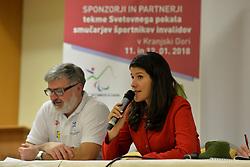 Captains meeting at 2018 World Para Alpine Skiing Cup, Kranjska Gora, Slovenia