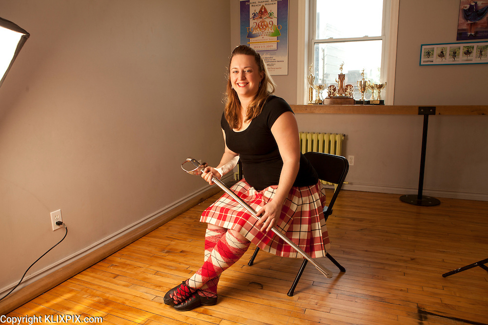 Erin Mansfield, Highland Dance Champ CPA.<br />