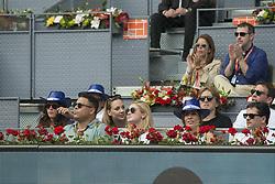 May 9, 2018 - Madrid, Madrid, Spain - RONALDO (L) watches KYLE EDMUND vs. NOVAK DJOKOVIC match during the 2nd round of Mutua Madrid Open 2018 - ATP in Madrid. (Credit Image: © Patricia Rodrigues/via ZUMA Wire via ZUMA Wire)
