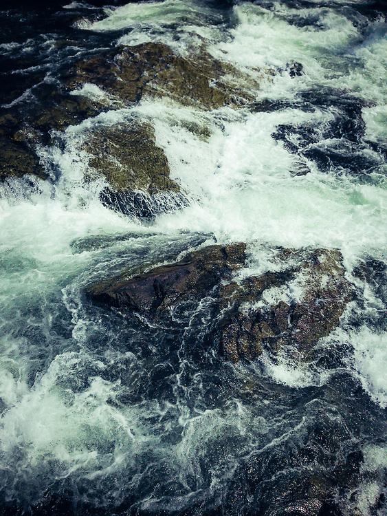 Swan River at the big rock